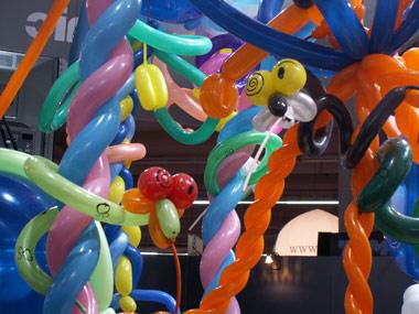 décoration sculpture de ballon 2010