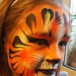 maquillage maquilleuse tigre