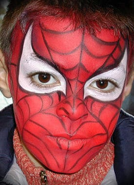 maquilleuse-spiderman